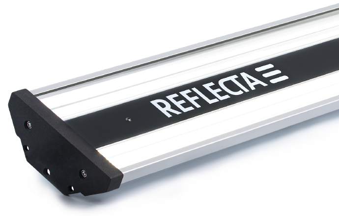 The REFLECTA PROLED industrial light is carefully designed and EU manufactured using highest quality materials and components.